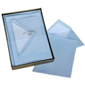 Classic Laid Deckled Correspondence Box Original Crown Mill, Gold, Boxed, Stationery, deckled, classic. laid surface