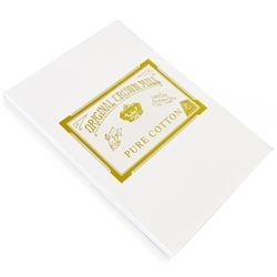 Pure Cotton Correspondence Pad Original Crown Mill, Cotton,sheet pads, OCM