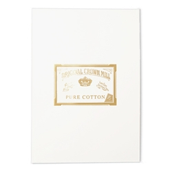 Pure Cotton Letter Pad Original Crown Mill, Cotton,sheet pads, OCM