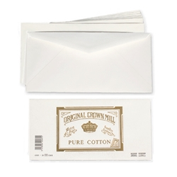 Pure Cotton Envelopes (for Letter Pad) Original Crown Mill, Cotton, envelopes, OCM