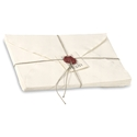 Arpa Large Note Sheet Set Arpa, handmade, sealing wax, Spain, deckled