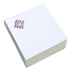 Refill-Brookfield Letterpress Square Notes