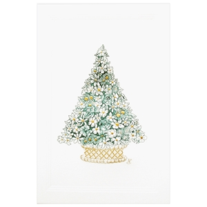 Flower Topiary Tree Card
