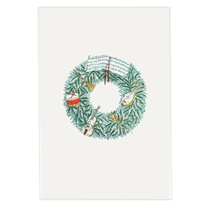 Musical Wreath Christmas Card