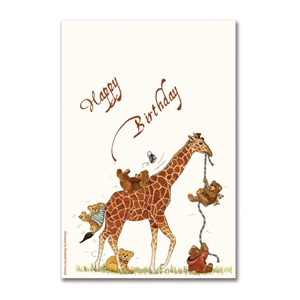 Happy Birthday Giraffe