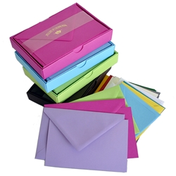 Color Vellum Large Note Cards