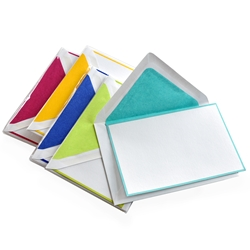 """Bi-Color"" Note Card 5/5 Packages"