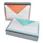 """Bi-Color"" Note Card Box - R-OCM-BICD"