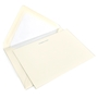 Classic Plain Edge Note Card Box - R-OCM630-PE