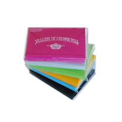 Color Vellum Mini Card Sets