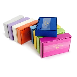 Color Vellum Note Card Sets