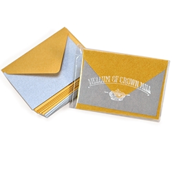 Metallic Mini Gift Card Sets
