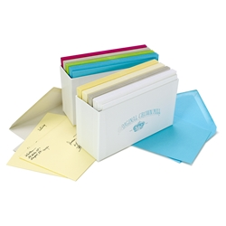 Color Vellum Note Card Assortments