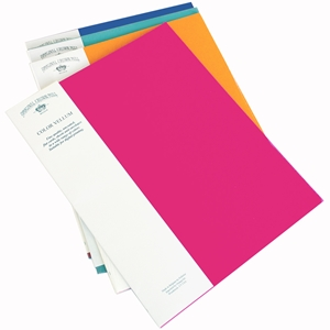"Color Vellum 8.5"" x 11"" Sheet 25 Packs"