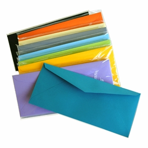 Color Vellum #10 Envelopes
