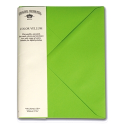 Color Vellum XL Envelopes
