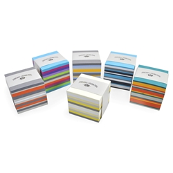 Color Vellum Memo Cubes