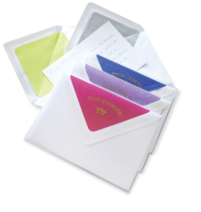 """Silk"" Tissue Note Box"