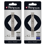 Platignum Vibe, No. 9 Ball Point Pen Refills - R-SNPLNO9REF