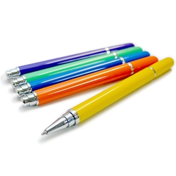 Recife Solid Color Rollerball Pens